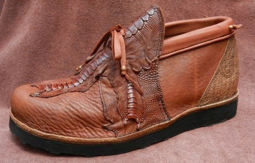 Custom Made 1/2 Boot, Wide Feet, Lit'l Hawks
