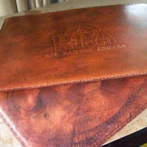 Custom Leather Pad/Mat by Kerry Phipps