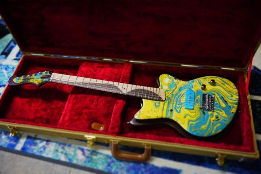 Custom Made Classic Surf Guitar