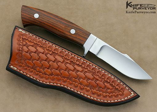 Custom Made Curt Erickson Custom Knife Cocobolo Harpoon Hunter
