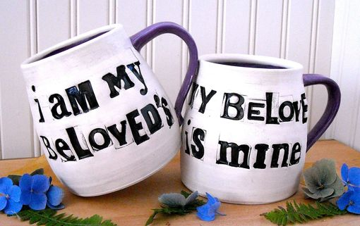 Custom Made Personalized Mugs - I Am My Beloveds, Song Of Solomon Quote