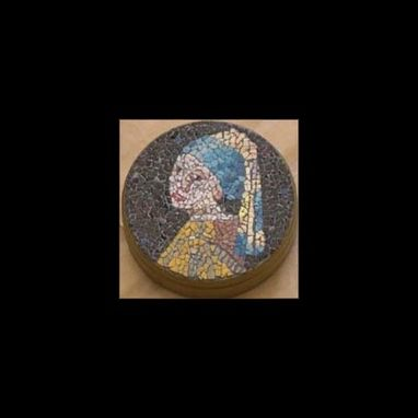 Custom Made Eggshell Mosaic Trinket Box