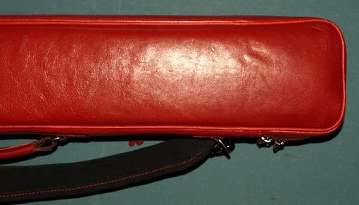 Custom Made Red Admiral Leather Poolstick Case