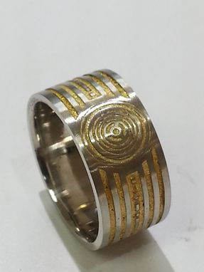Custom Made C-3po Wedding Band