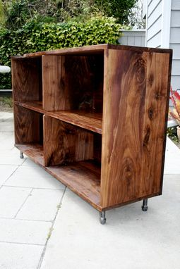 Custom Made Walnut Record Player Console