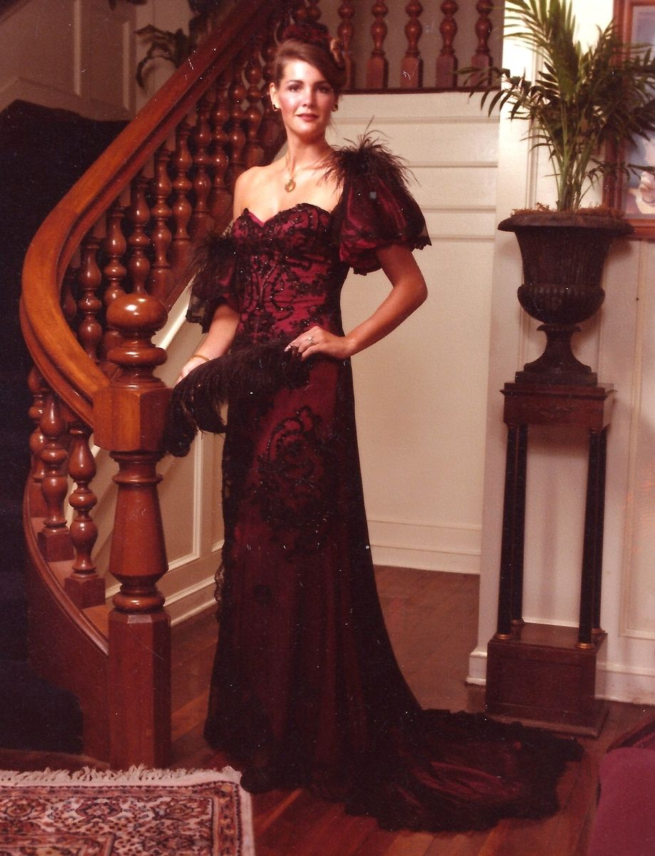 Hand Crafted Victorian Inspired Evening Gown by Jean Showalter ...