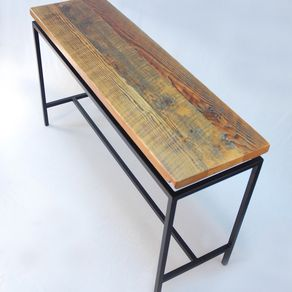 new arrival da5ff 22492 Reclaimed Wood Entry Tables, Hall Tables and Accent Tables ...