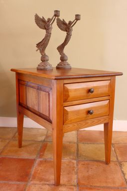 Custom Made Two Drawer Commode