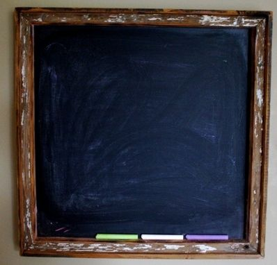 Custom Made Custom Picture Frames,  Chalk Boards, Mirrors And Coffee Bags