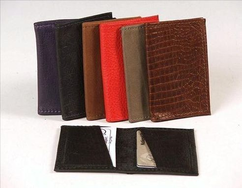 Custom Made Business Credit Card Wallet