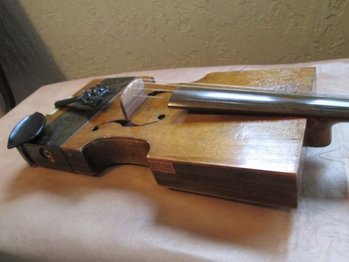 Custom Made Cigar Box Fiddle