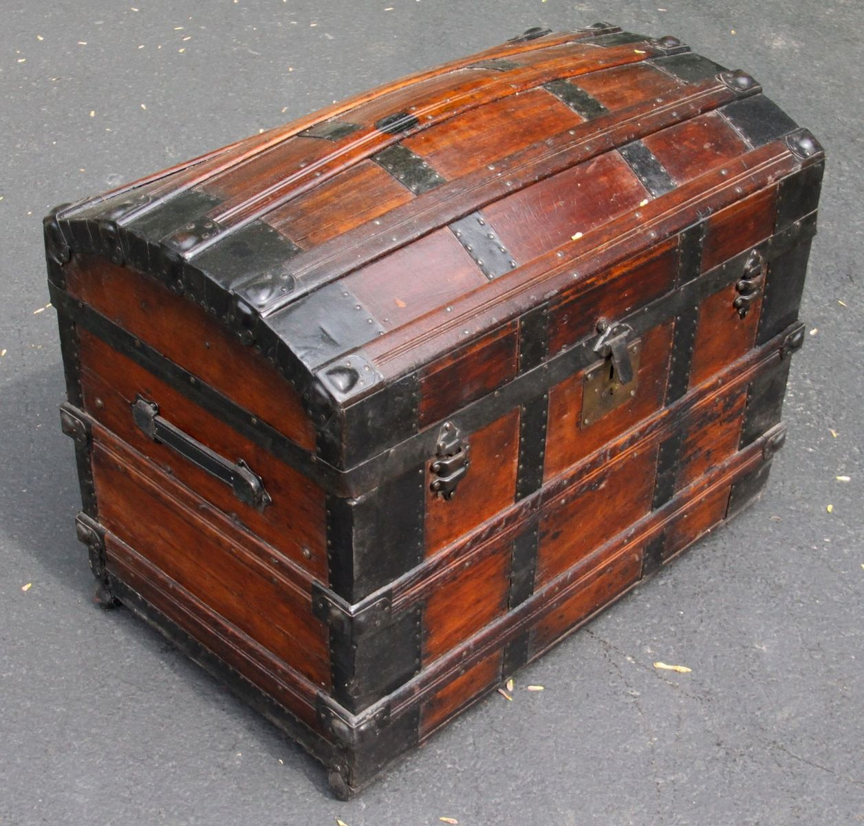Custom Made Trunk Chest Restoration By Artisans Of The