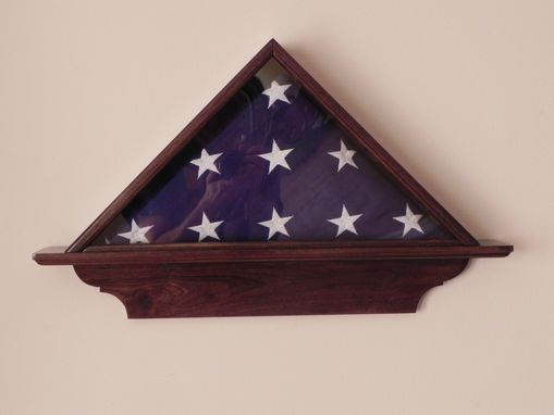Custom Made Military Flag Cases