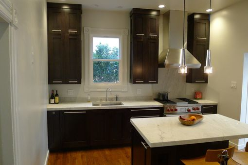 Custom Made Custom Kitchen Cabinetry, Stained Rift-Sawn Oak