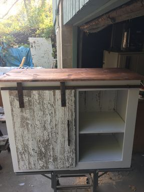 Custom Made Sliding Door Console