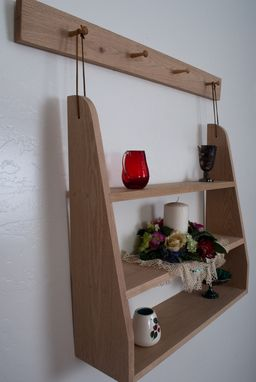 Custom Made Shaker Hanging Shelf