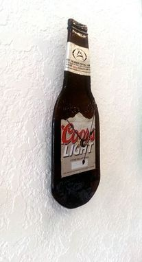 Custom Made Coors Light Beer Bottle Clock