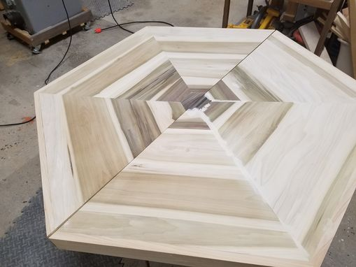 Custom Made Hexagon Dining Table