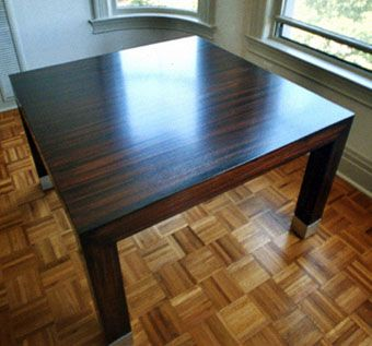 Custom Made Modern Parson's Table