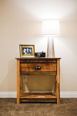 Custom Made Reclaimed Bedside Table