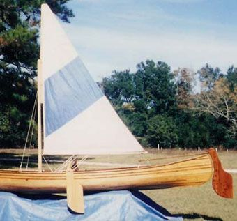 Custom Made Traditional Cypress 16' Prospector Canoe