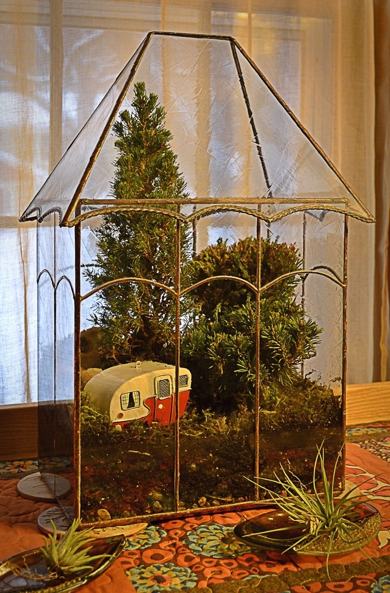 Handmade Victorian Terrarium Display Case By Bc Studios Custommade Com