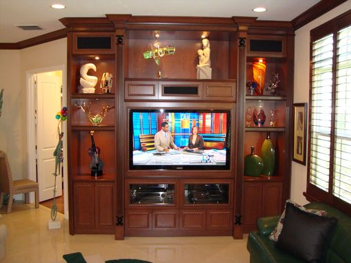 Custom Made Wall Unit 5