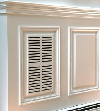 Custom Made Raised Panel Wainscoting