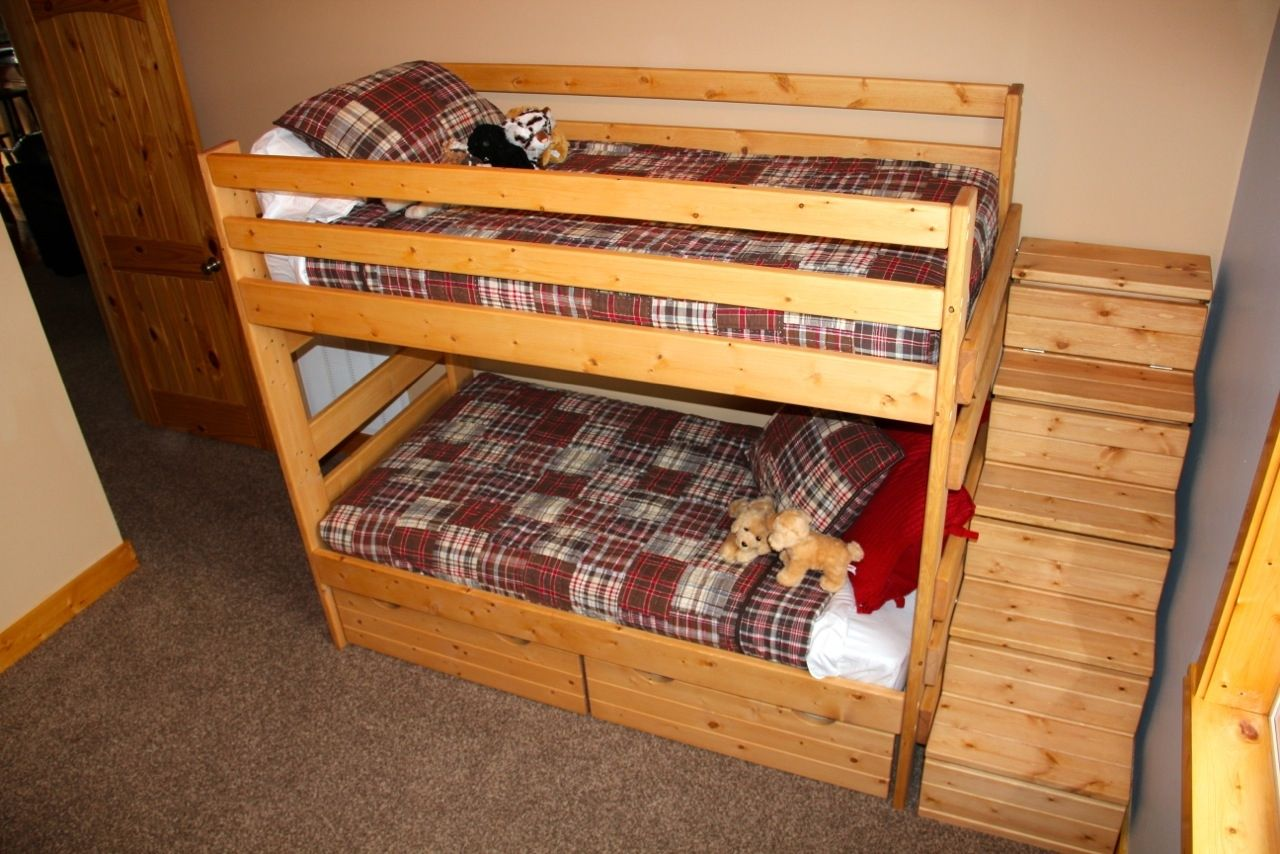 custom made twintwin bunk bed frames