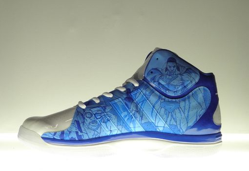 Custom Made Dwight Howard Custom Sneakers