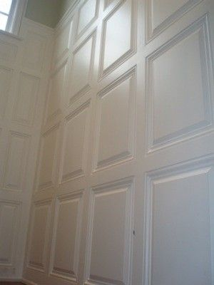 Handmade Raised Panels Wainscoting And Trim By Precision