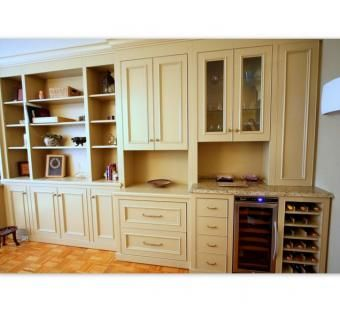 Custom Made Multi-Functional Built-In Wall Unit