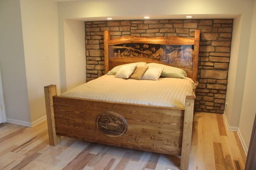 Hand Made Custom Beds King Size Beds Queen Size Beds Carved Headboards By Lazy River