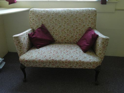 Custom Made Reupholstered Loveseat From The 1920'S