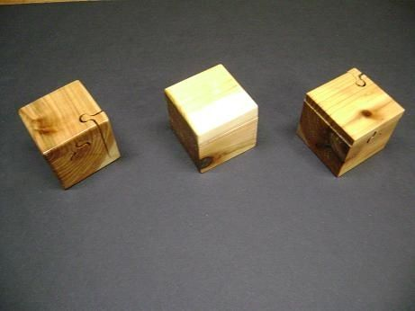 Custom Made Mini Puzzle Box