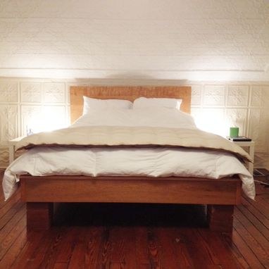 Custom Made Cherry Platform Bed