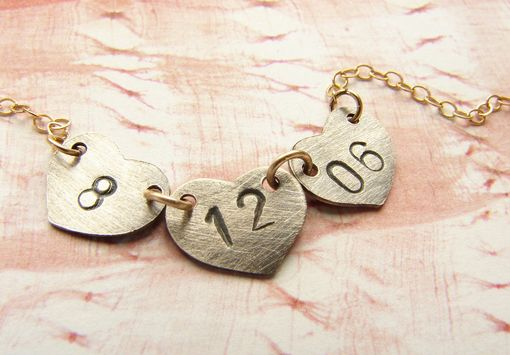 Custom Made Date Bracelet, Personalized Bracelet, Engraved Wedding Date, Anniversary Date Bracelet Gift For Her