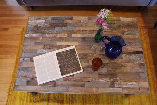 Custom Made Rustic Reclaimed & Sustainably Harvested Wood Coffee Table