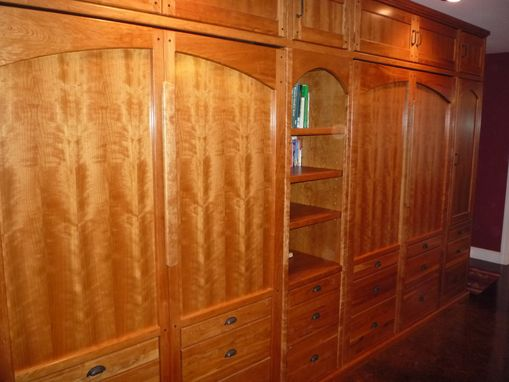 Custom Made Cherry Wall Bed (Murphy Bed)