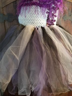 Custom Made Tulle Tube Top Dress