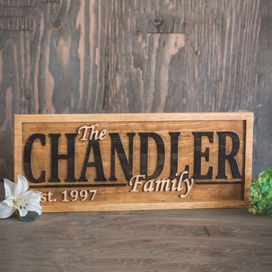 Custom Made Family Name Signs Family Name Lawn Signs Family Name Family Last Name Sign Family Gift