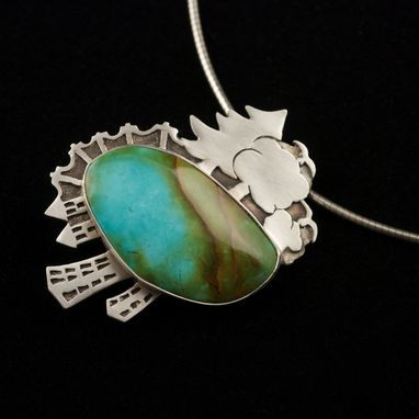 Custom Made Man And Nature Necklace