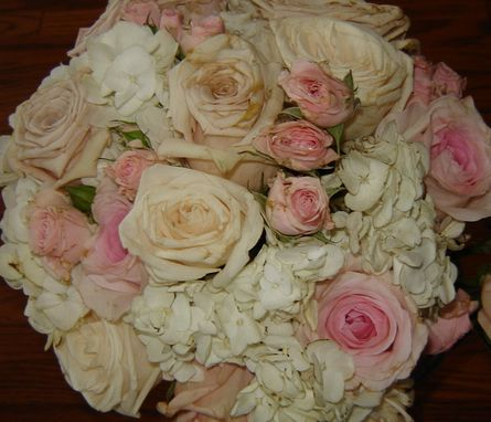 Custom Made Pressed Flower Art ~ Bridal Bouquet
