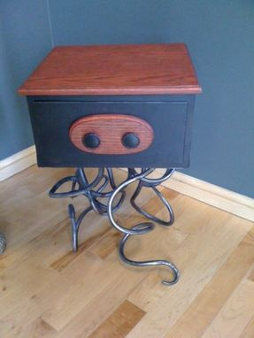Custom Made Squib Nightstand