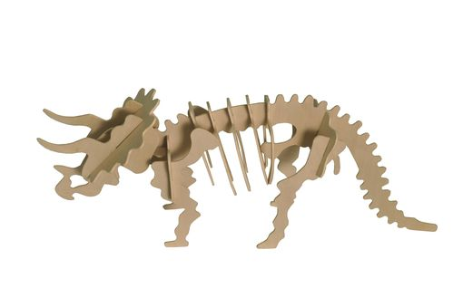 Custom Made Small Triceratops Puzzle Kit