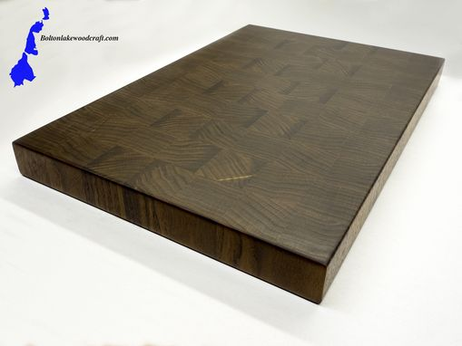 Custom Made Walnut Cutting Board End Grain Butcher Block Charcuterie Board