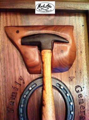 Custom Made Artisan Displays For Antique Tools, Pipes, Duck Calls, Golf Balls ...