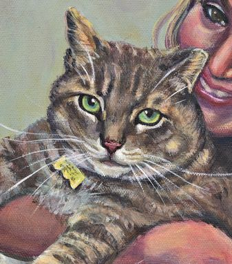 Custom Made Custom Hand Painted Pet Portraits:11'X14
