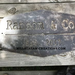 Custom Metal Signs | Personalized Aluminum, Steel, Copper