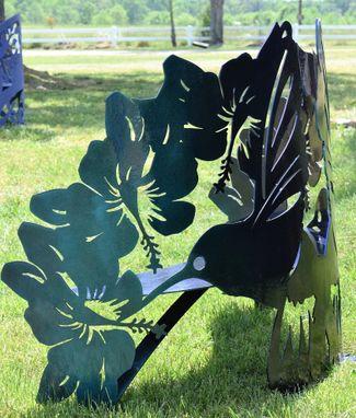 Fine Buy A Hand Crafted Hummingbird Hibiscus Steel Metal Garden Andrewgaddart Wooden Chair Designs For Living Room Andrewgaddartcom